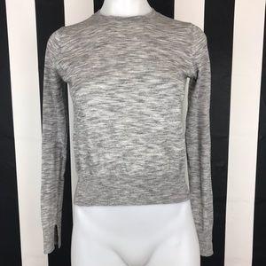 5 for $25 Zara Knit Gray Heather Crewneck Sweater